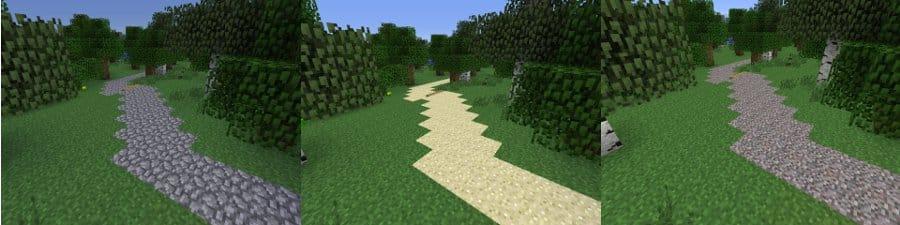 minecraft road type image